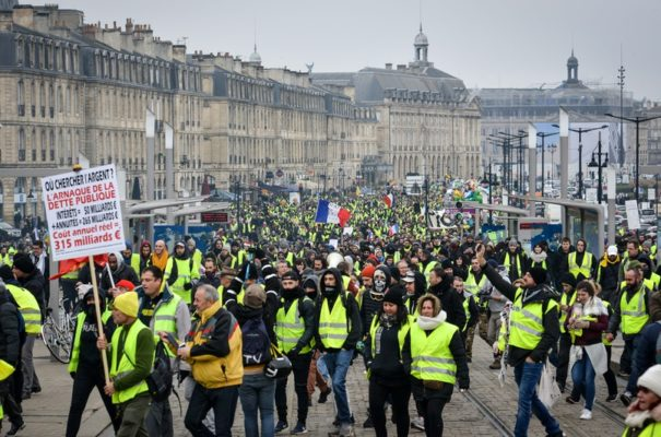 Wat ass de gilets jaunes-Mouvement?